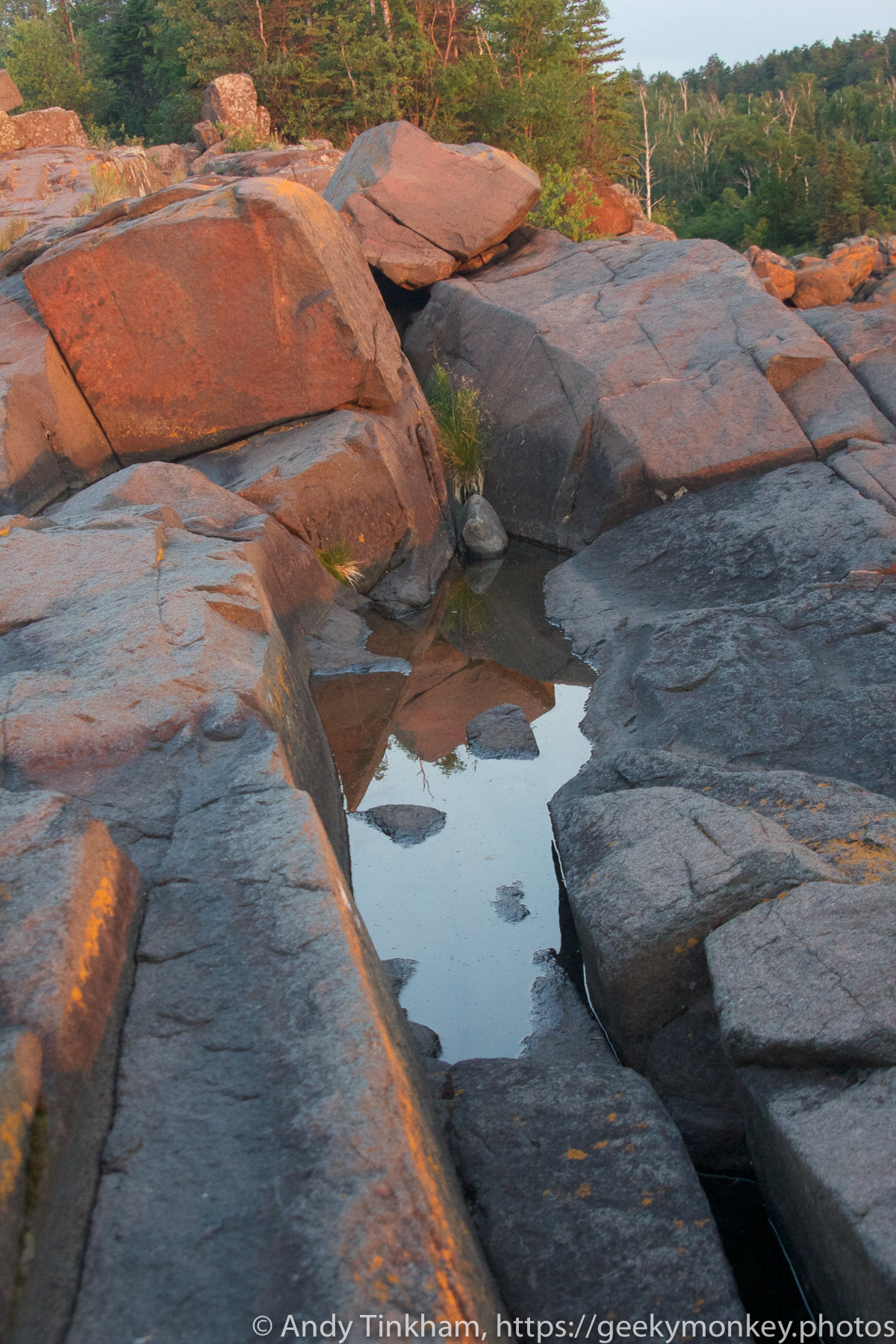 Puddle on the Point